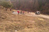 Apríl - 2013 sa v v lokalite Dolina pripravuje odstavná plocha pre drevoprepravujúce nákladné auta