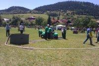 DHZ obce Vojkovce reprezentovalo svoju obec v roku 2012 na okrskových pretekoch v obci Kolinovce