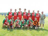 Futbalové družstvo SLATVINA  v súťaži o pohár starostu obce Vojkovce  v roku  2011