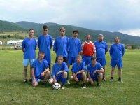 Futbalové družstvo KAĽAVA  v súťaži o pohár starostu obce  Vojkovce v roku  2011