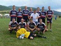 Futbalové mužstvo  KROMPACHY  v súťaži o pohár starostu obce Vojkovce v roku  2011