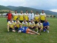 Futbalové mužstvoVOJKOVCE na súťaži o pohár starostu obce Vojkovcd v roku  2011