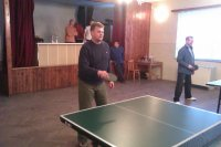 Súťaž v PING-PONGU 13.01.2013 o pohár starostu obce Vojkovce  Rastislava Koleja