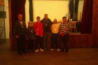 Vyhodnotenie súťaže v PING-PONGU o pohár starostu obce Vojkovce  v roku 2013