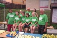 USPORIADATEĽSKÁ  SKUPINA  MTB  maratónu v obci Vojkovce 1.09.2012