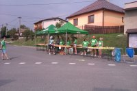 Prejazd kráľovského MTB maratónu cez obec Vojkovce 1.09.2012