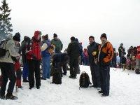 Štefánsky výstup na Sľubicu 26.12.2011  -  konečne na vrchole Sľubice