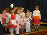 Vystúpenie detí na oslave jubilantov v roku 2011