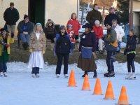 Maškarný ples na ľade v obci Vojkovce  30.január 2011