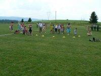 MDD 2011  súťaže detí na futbalovom ihrisku Vojkovce
