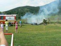 MDD 2011 ukážka požiarnej techniky HaZZ  Krompachy