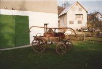 Ručná striekačka pred opravou - 1993