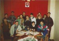 Tenis club aj s novými členmi 1994