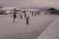 Hokejový turnaj o pohár starostu obce Vojkovce 2013