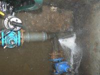 Stav poruchy vo vodovodnej šachte máj 2014