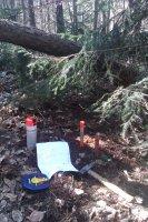 Urbariát Vojkovce zameriavanie sukromných lesných parciel v roku 2015