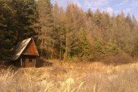 Chatka v dolinke potoka Jaseňovec